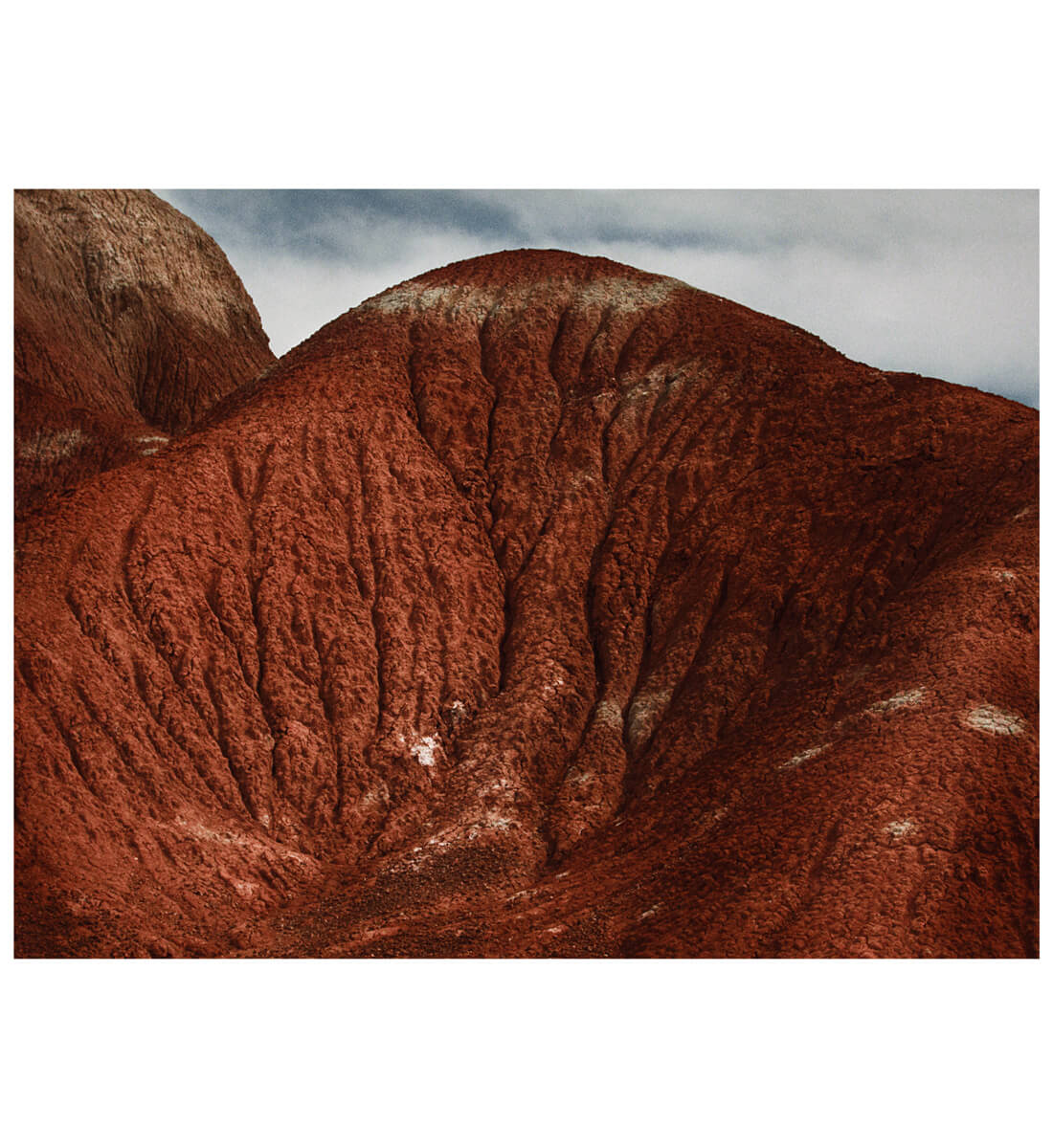 Georgia O'Keeffe's red hill <br>Ghost Ranch