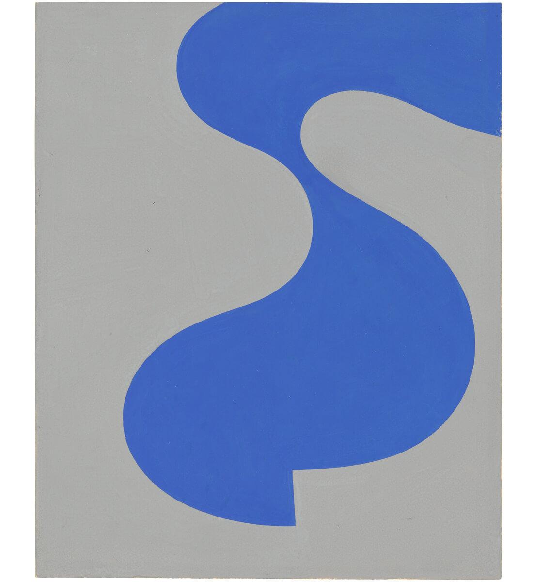 Forme bleue (Blue shape)