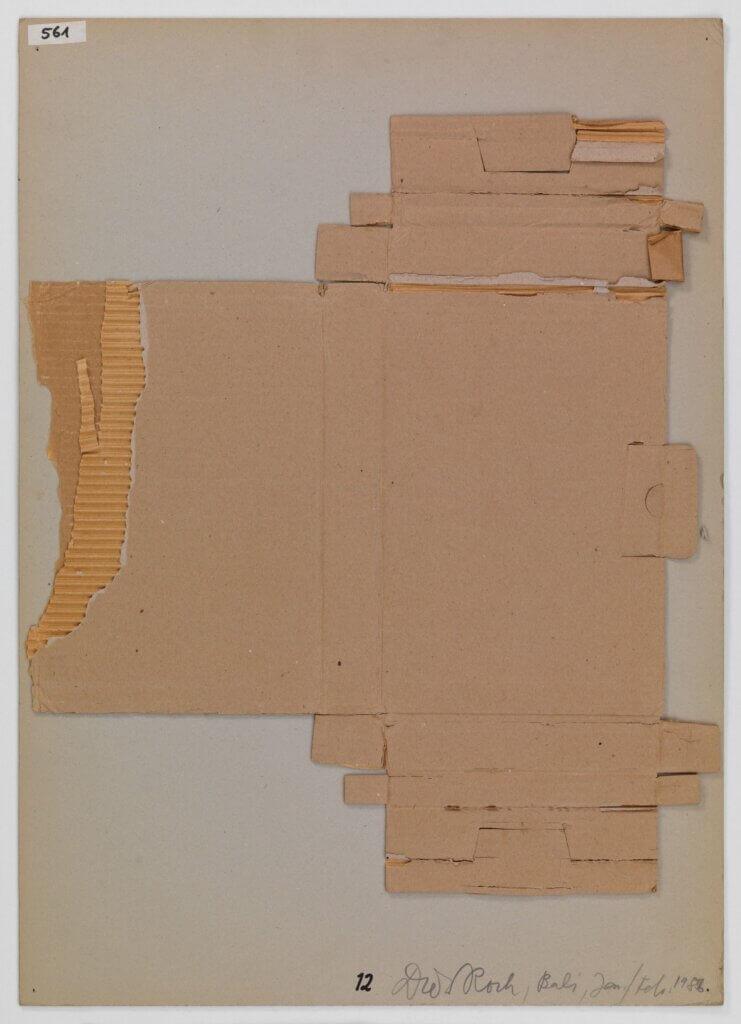 Kartonabfälle 12 (Cardboard 12)