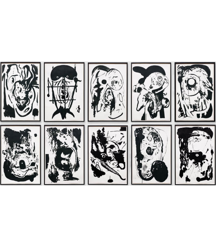 Untitled<br>(Group of 10 drawings)