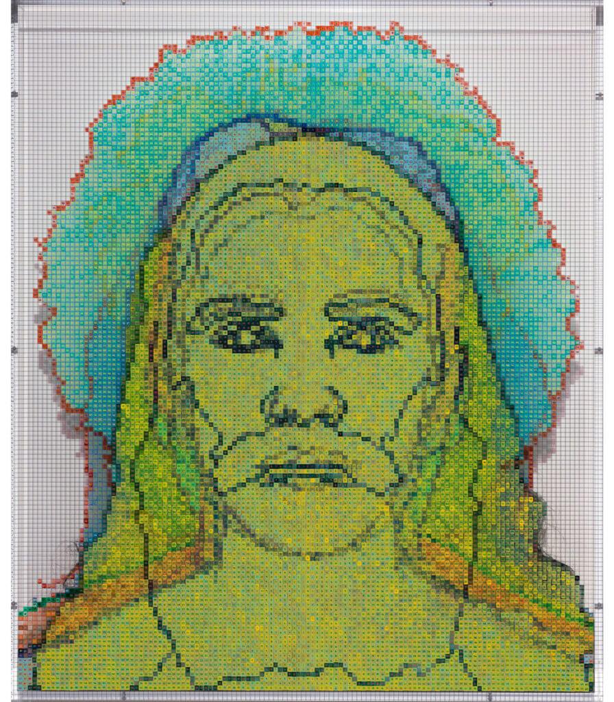 Numbers and Faces: Multi-Racial/Ethnic Combinations Series 1: Face #12, Houtan Khadjehnouri (German/Iranian)