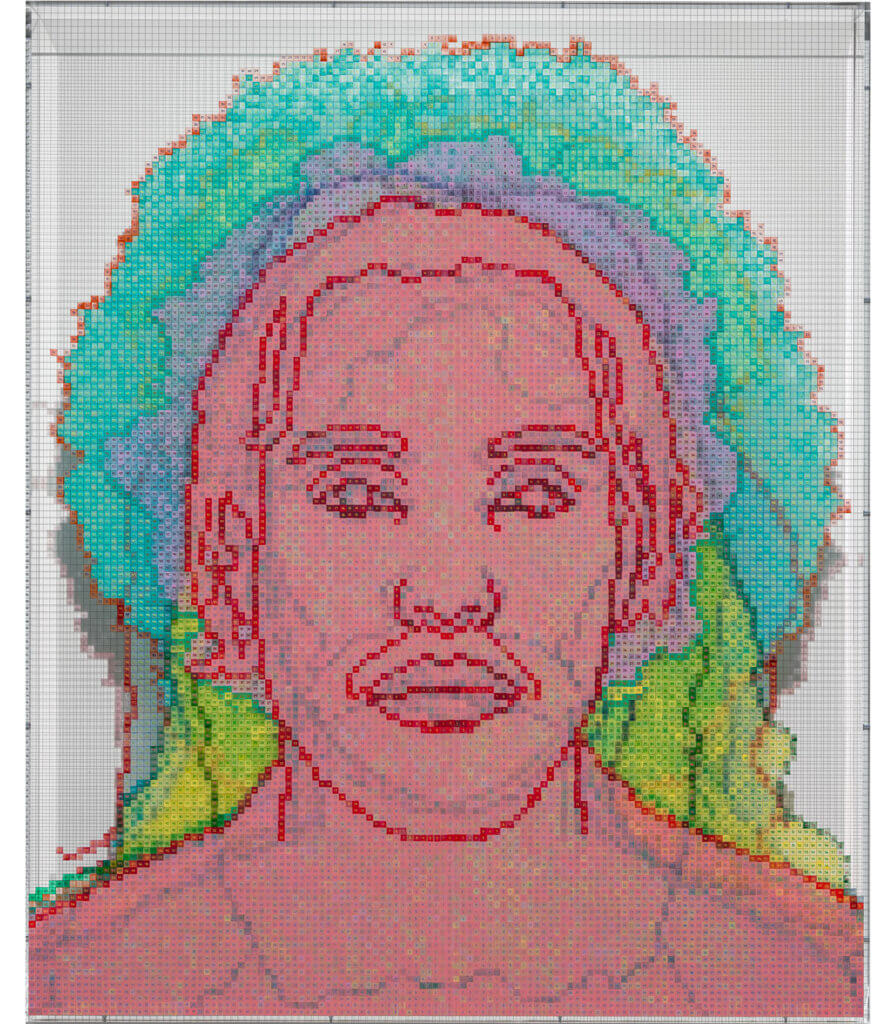 Numbers and Faces: Multi-Racial/Ethnic Combinations Series 1: Face #14, Senay Kenfe (Eritrean/Black American)