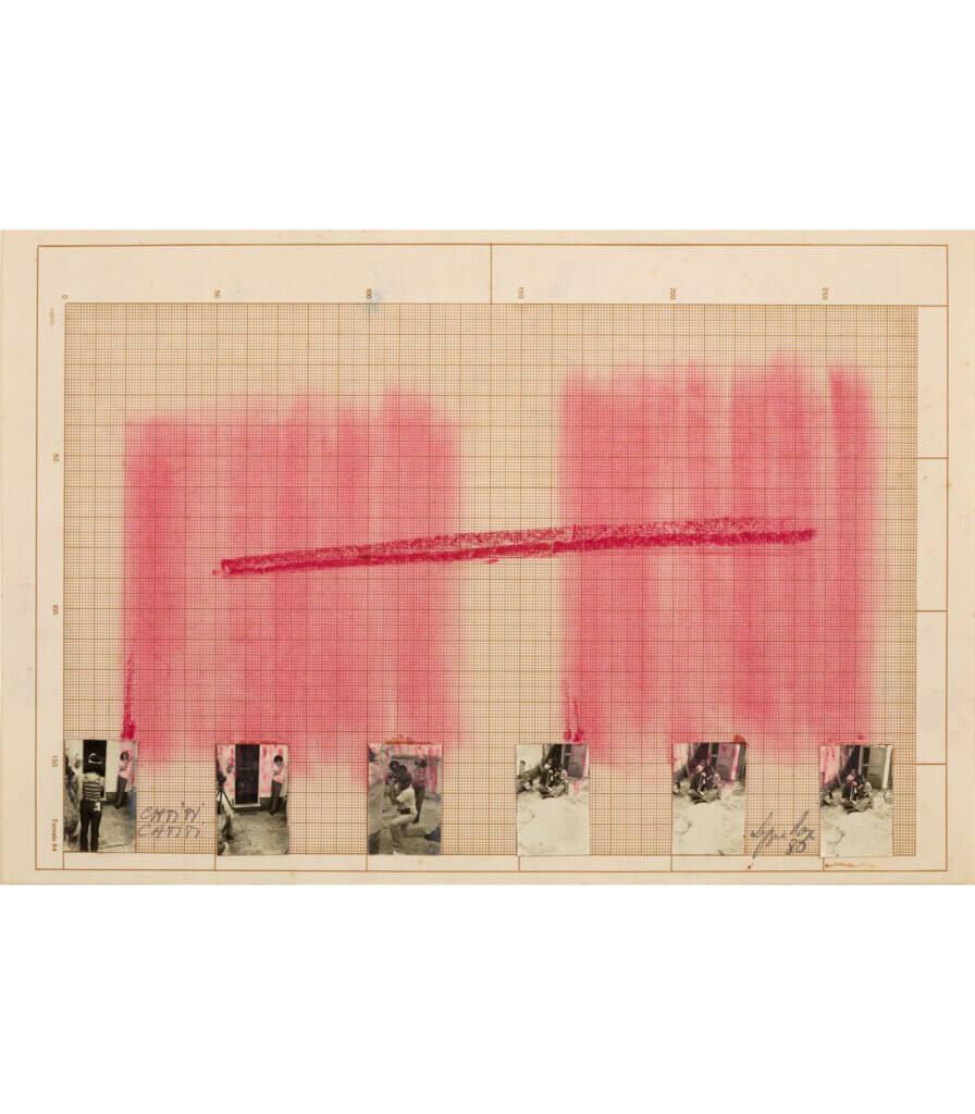 Desenho – Espaços Imantados, Registro Cinematográfico (Drawing – Magnetized Spaces, Cinematographic Study)