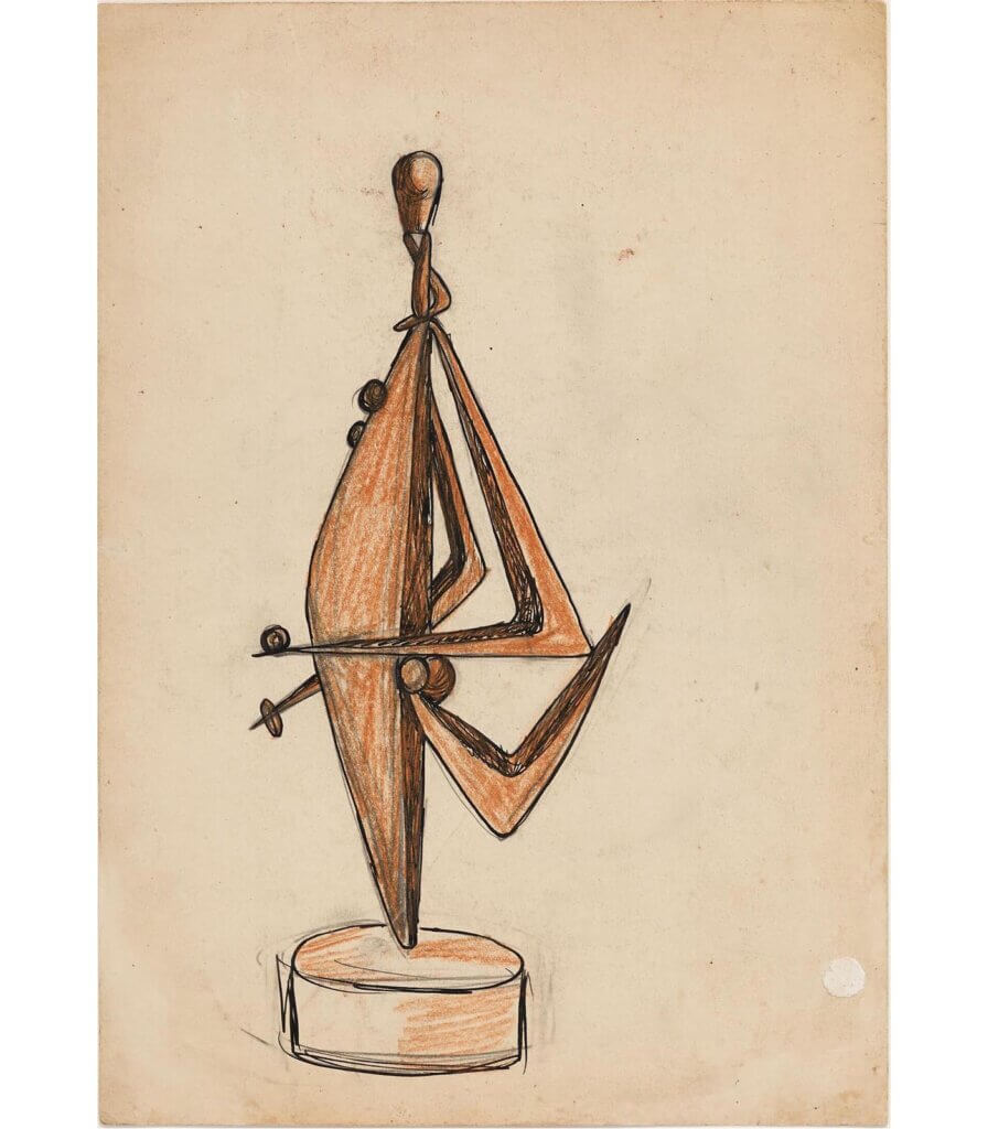 Untitled (studies for sculpture)